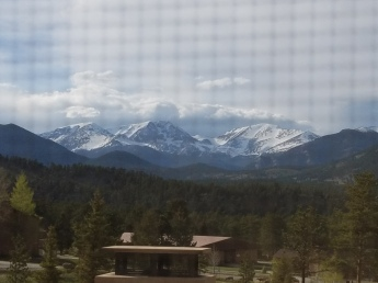 Gorgeous mountain scenery in Estes Park Colorado