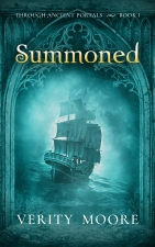 Cover for author Verity Moore's book Summoned