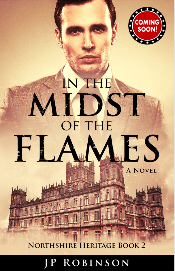 JP Robinson's newest book, In the Midst of the Flames, releases November 4, 2019.