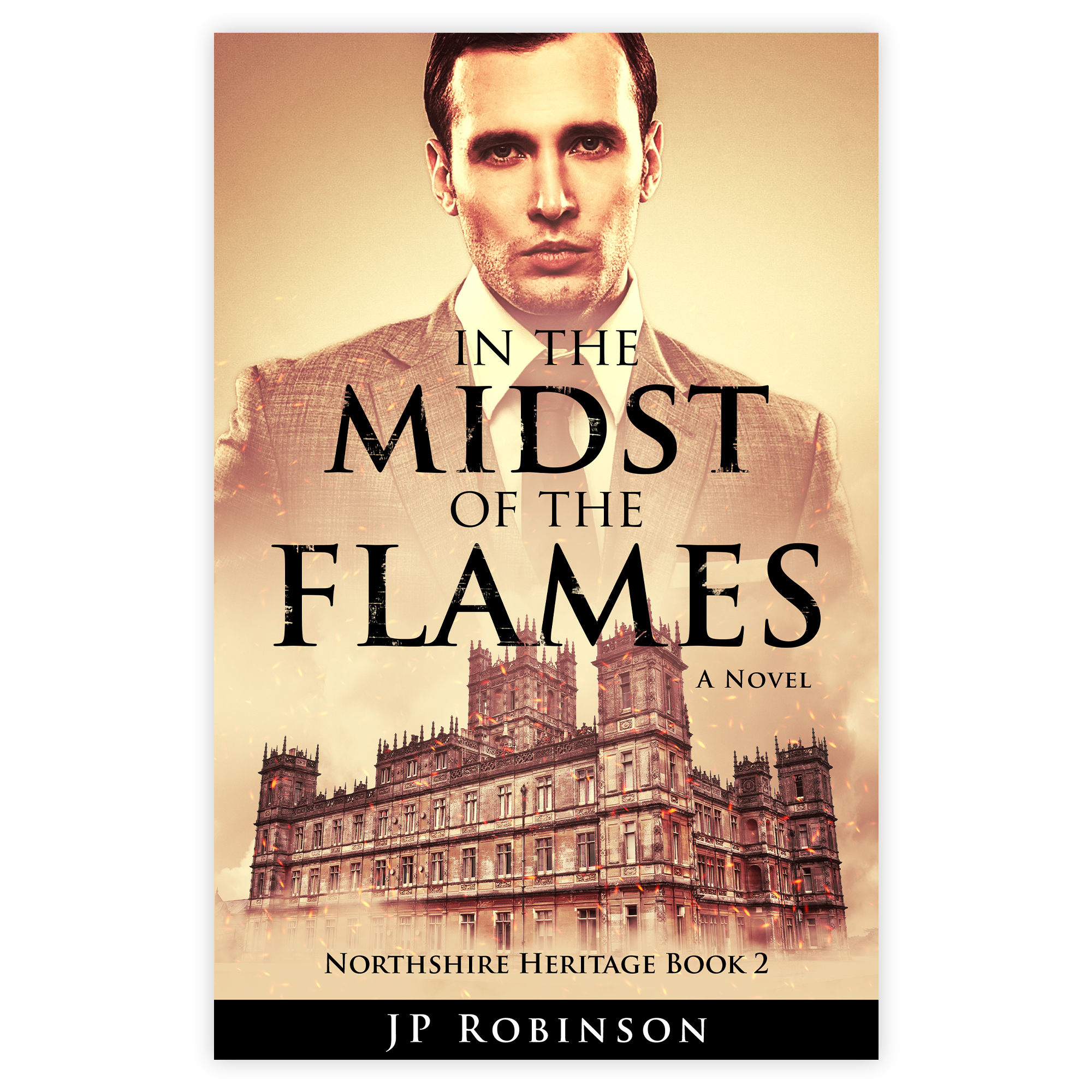 Cover for JP Robinson's book In the Midst of the Flames