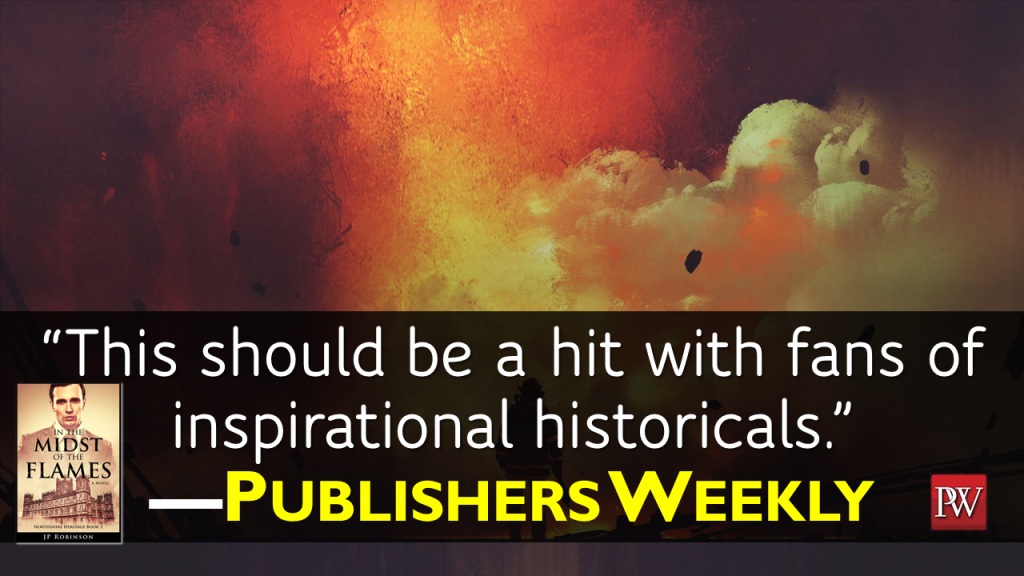 Christian author JP Robinson shares a review by Publishers Weekly. Check out JP Robinson's historical fiction titles on Amazon and Barnes and Nobles